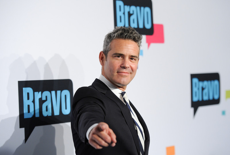 Andy Cohen pointing
