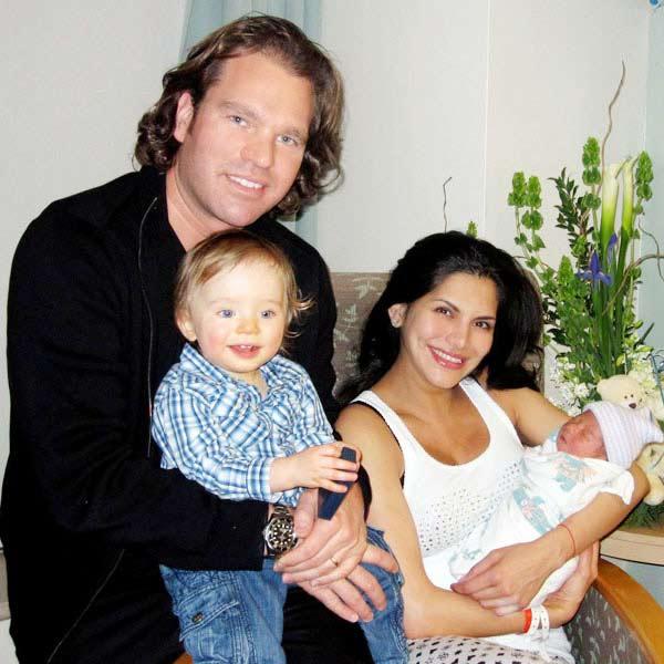 Joyce Giraud and family