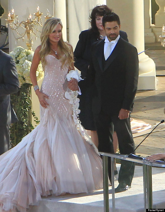 Semi-Exclusive... Tamra Barney And Eddie Judge Tie The Knot