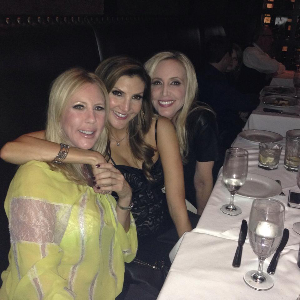 vicki fb pic with shannon and heather