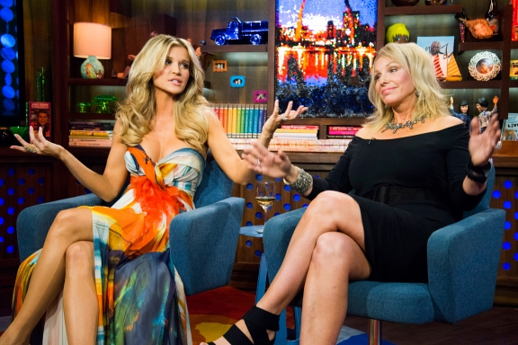 wwhl joanna and lea Are Joanna Krupa & Lea Black Joining The Real Housewives of Beverly Hills?