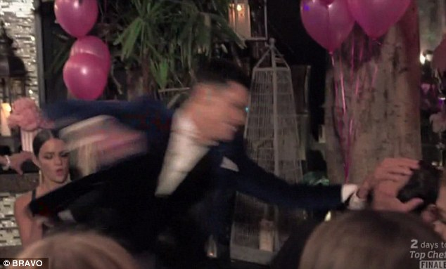 tom punching jax Is This the End for Vanderpump Rules? Epic S2 Finale & Crazy Reunion Sneak Peek