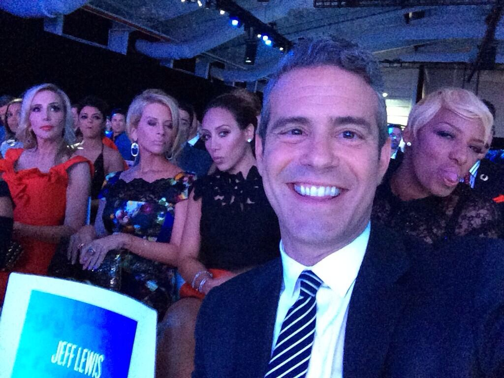 bravo upfronts 2014 andy and housewives