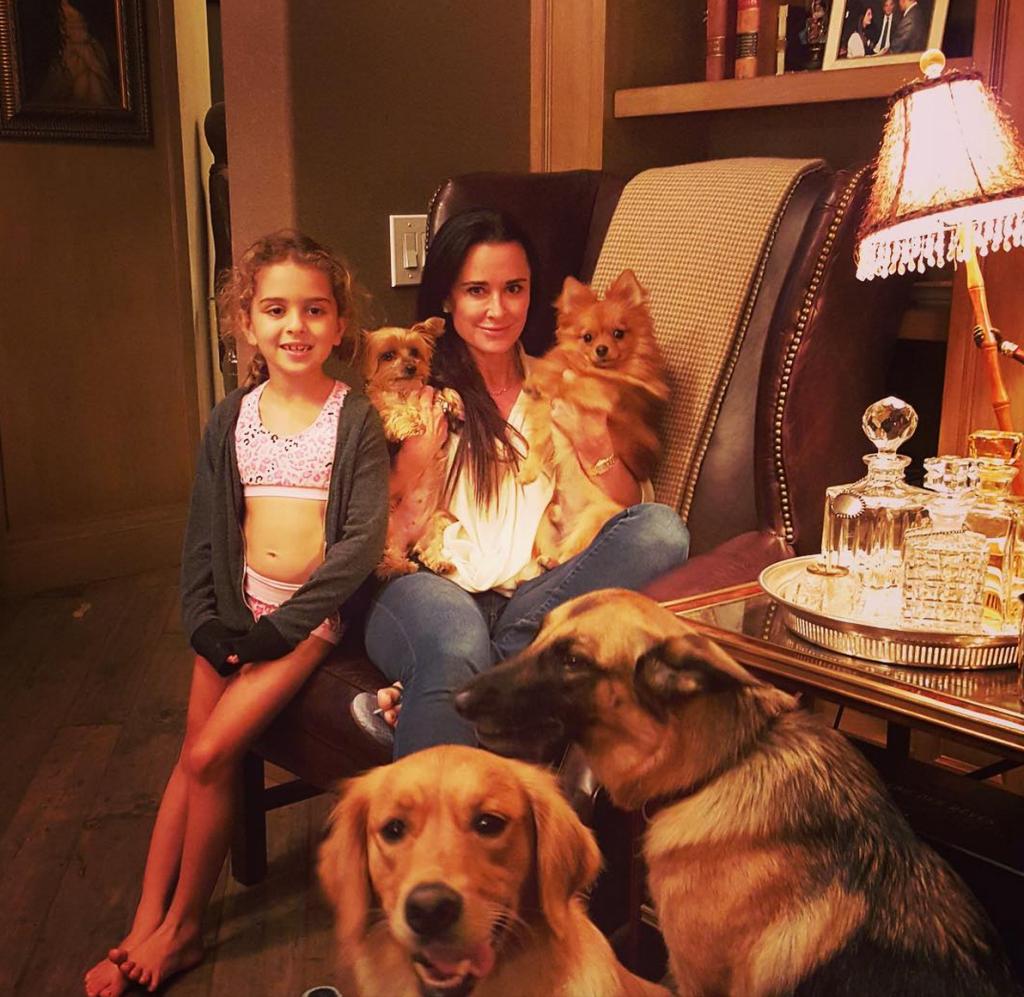 kyle richards national dog day instagram update