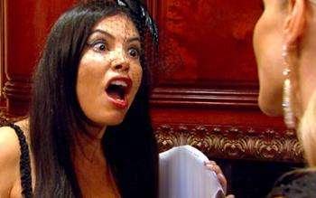 real housewives of miami adriana screaming