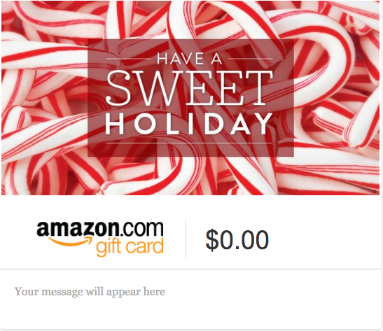 amazon holiday gift card picture