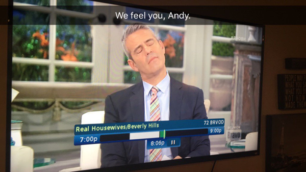 annoyed andy cohen