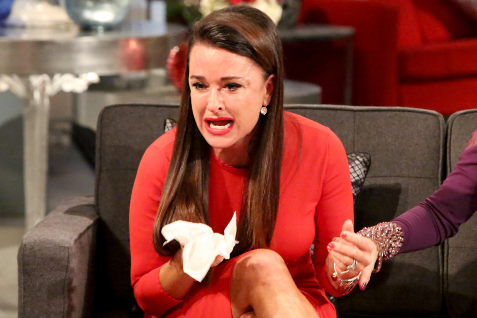 kyle richards crying face