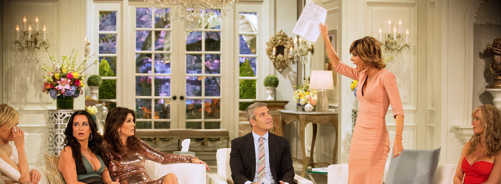 lisa rinna at the real housewives of beverly hills season 6 reunion