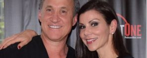 Heather-and-Terry-Dubrow-posing-for-a-picture