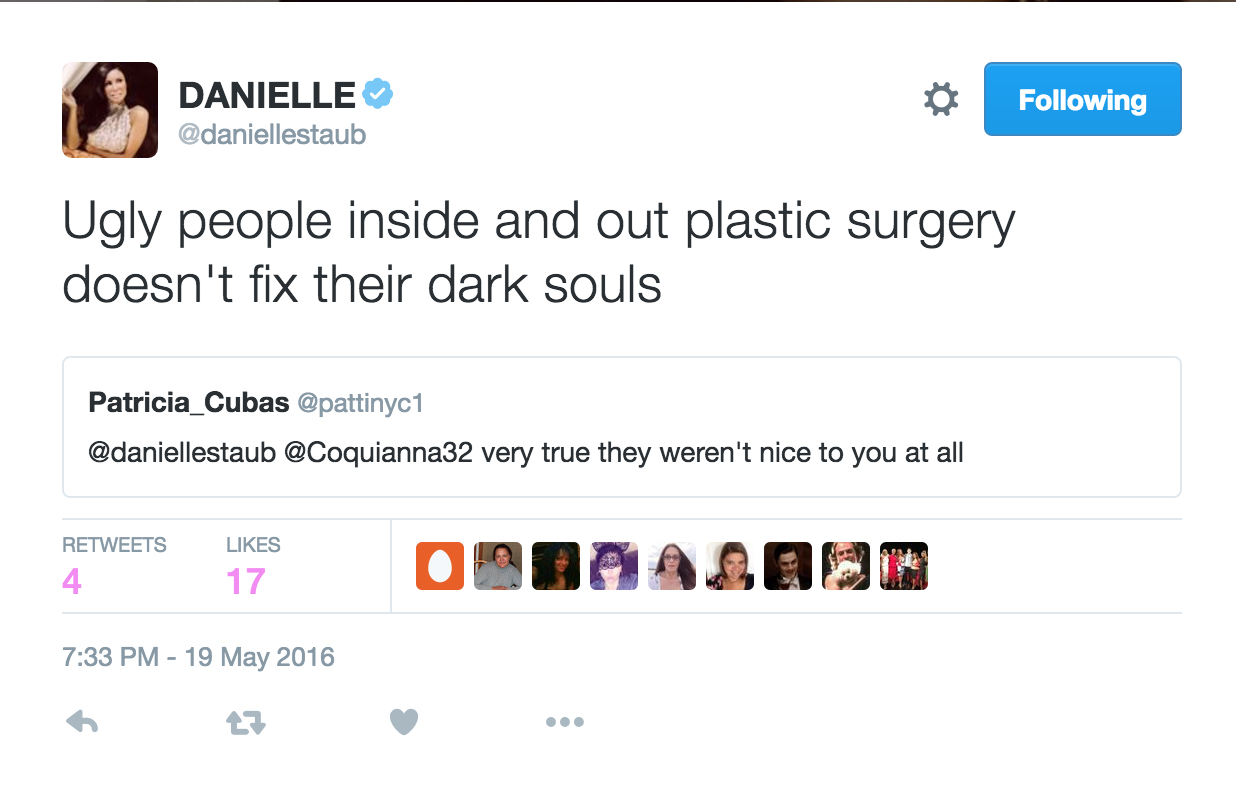 danielle staub talking about her cast mates