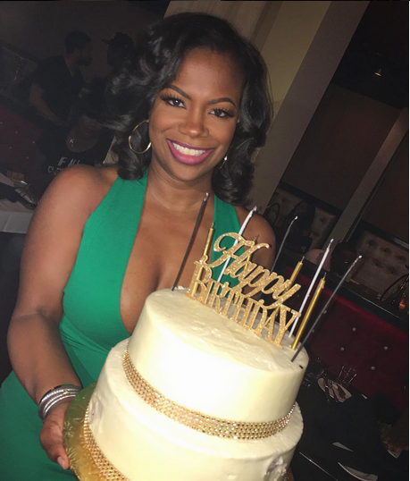 kandi burruss 40th birthday party