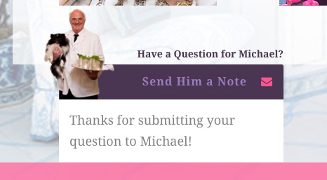 send michael a message