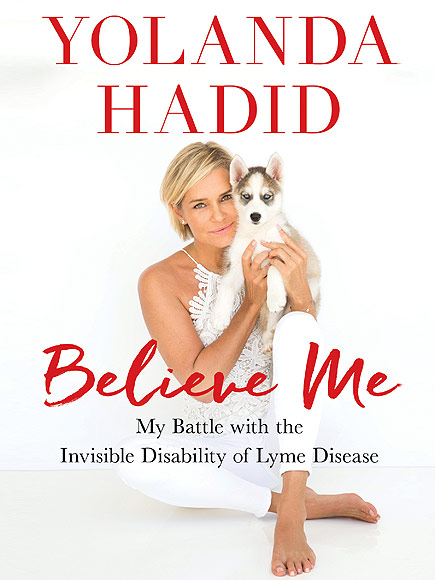 Yolanda Hadid new book about lyme disease