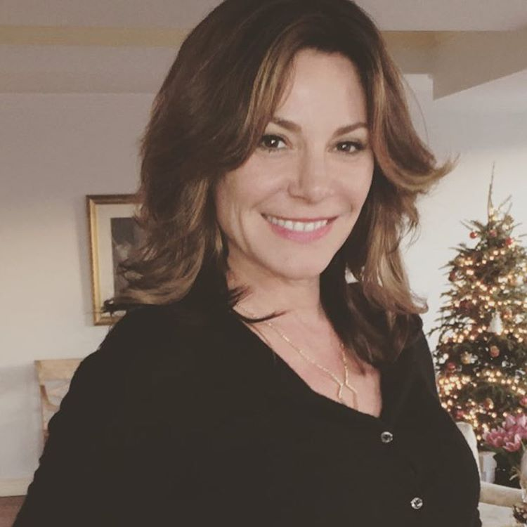 luann de lesseps new hairstyle