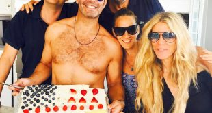 Andy Cohen celebrated the 4th of July with a patriotic cake... Yummy.