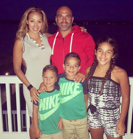 Melissa Gorga and Joe Gorga celebrated Independence Day with their whole little family.