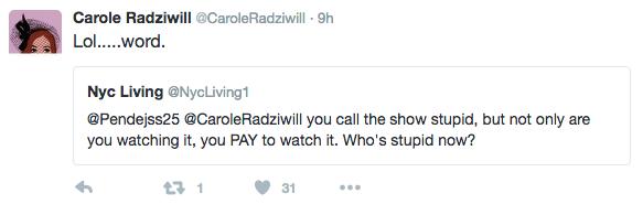 carole radziwill - word