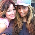 cynthia bailey with countess luann