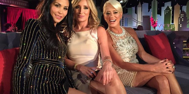 dorinda medley with jules wainstein and sonja morgan