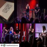 Heather Dubrow trying her hand at improv.