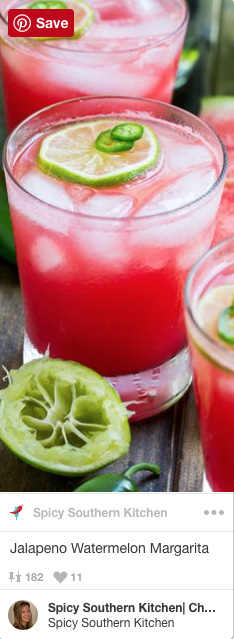jalapeno watermelon margarita