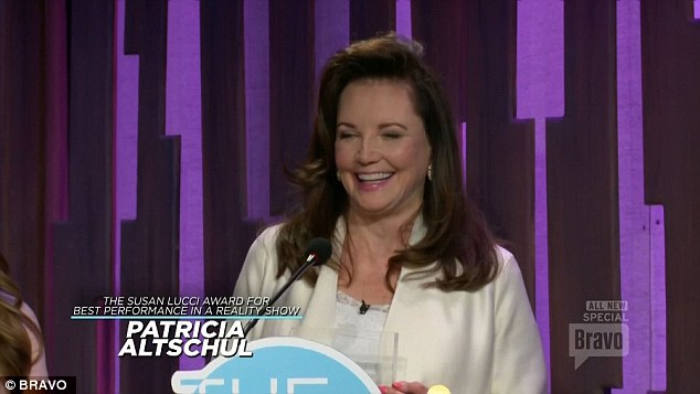 patricia altschul wins at the bravos