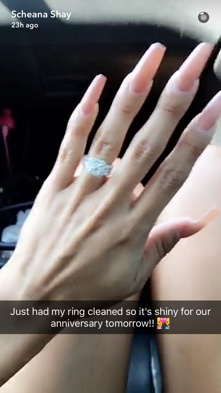 scheana shay wedding ring