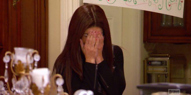 teresa giudice crying