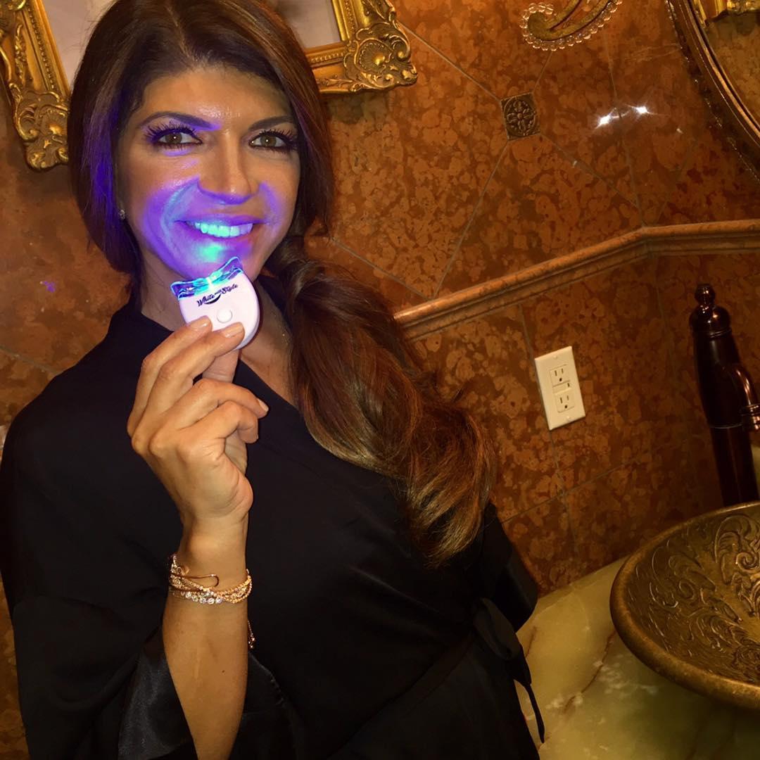 teresa giudice teeth whitening