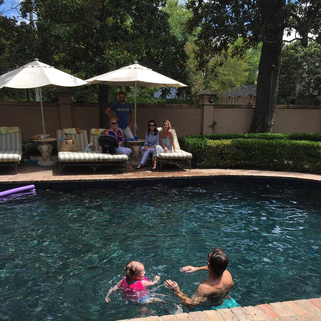 thomas ravenel in a swimming pool