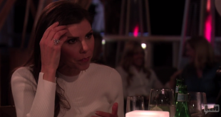 Heather dubrow at dinner
