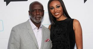 cynthia bailey and peter thomas at a bravo event