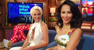 dorinda medley and jules wainstein on watch what happens live
