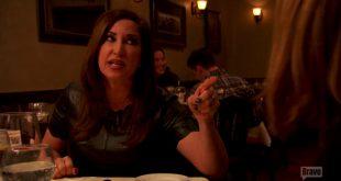 jacqueline laurita arguing with Melissa Gorga