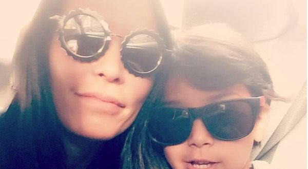 jules wainstein and jagger wearing sunglasses