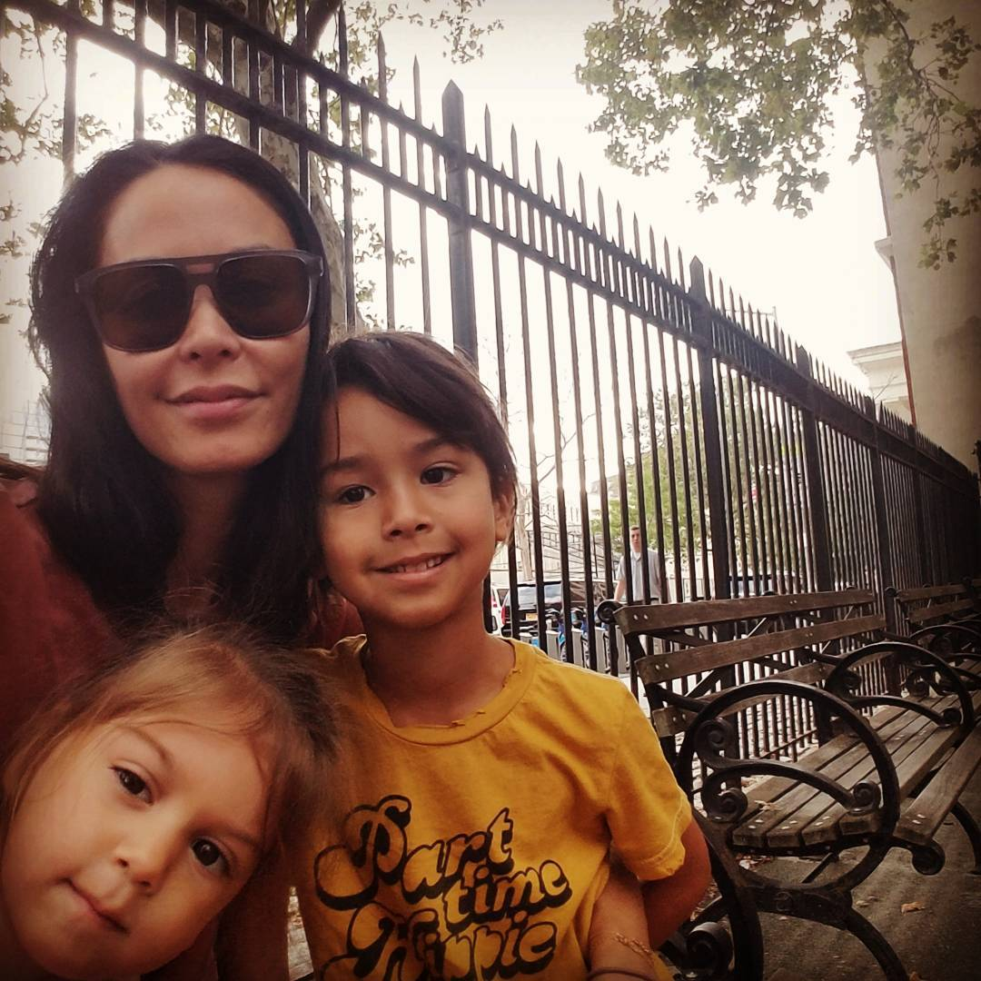 jules wainstein with rio and jagger