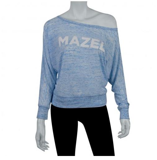 mazel off the shoulder shirt