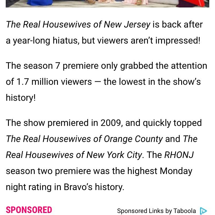 real housewives of new jersey season 7 viewer ratings