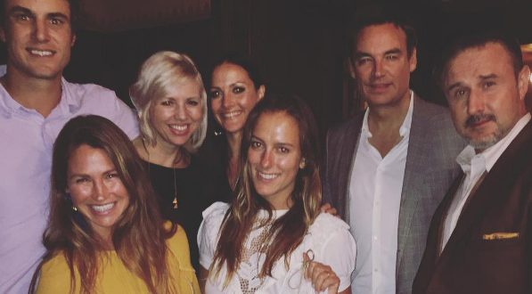 southern charm cast at an arquette family dinner