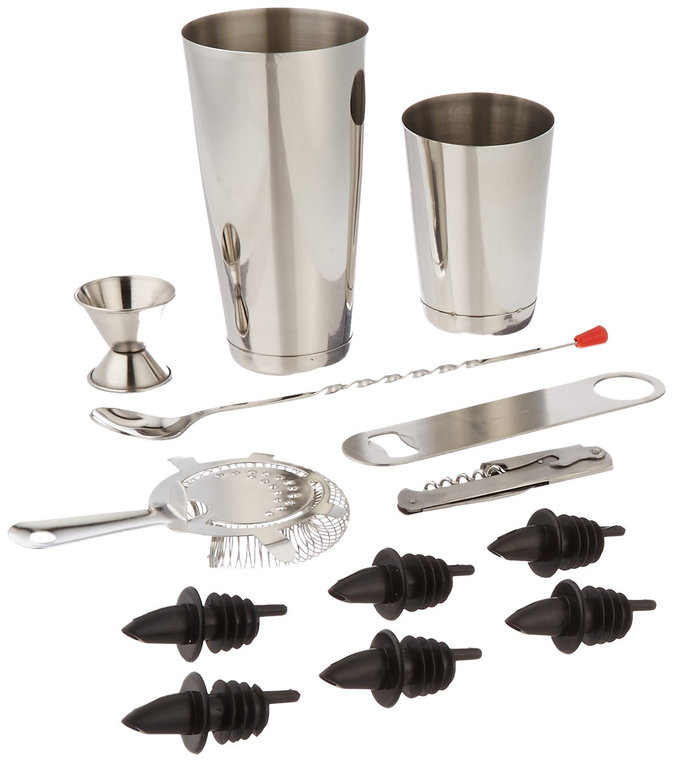 stainless steel professional bar set