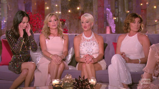 the real housewives of new york season 8 reunion couch