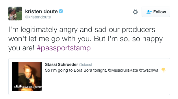 kristen doute angry at bravo producers